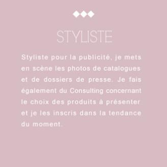 Styliste, journaliste, scénographe, Sylvie Bendavid, Presse, Publicité