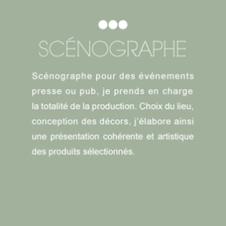 Scénographe, Styliste, Sylvie Bendavid, publicité, presse